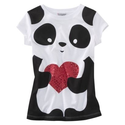 b68a81990 Panda graphic t-shirt Target $8.99 Another one I want to try to copy myself.