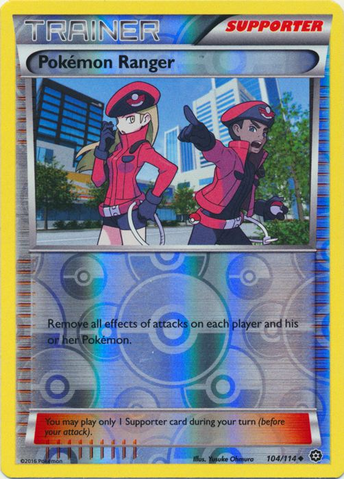 Pokemon Ranger 104114 Uncommon Trainer Reverse Cards
