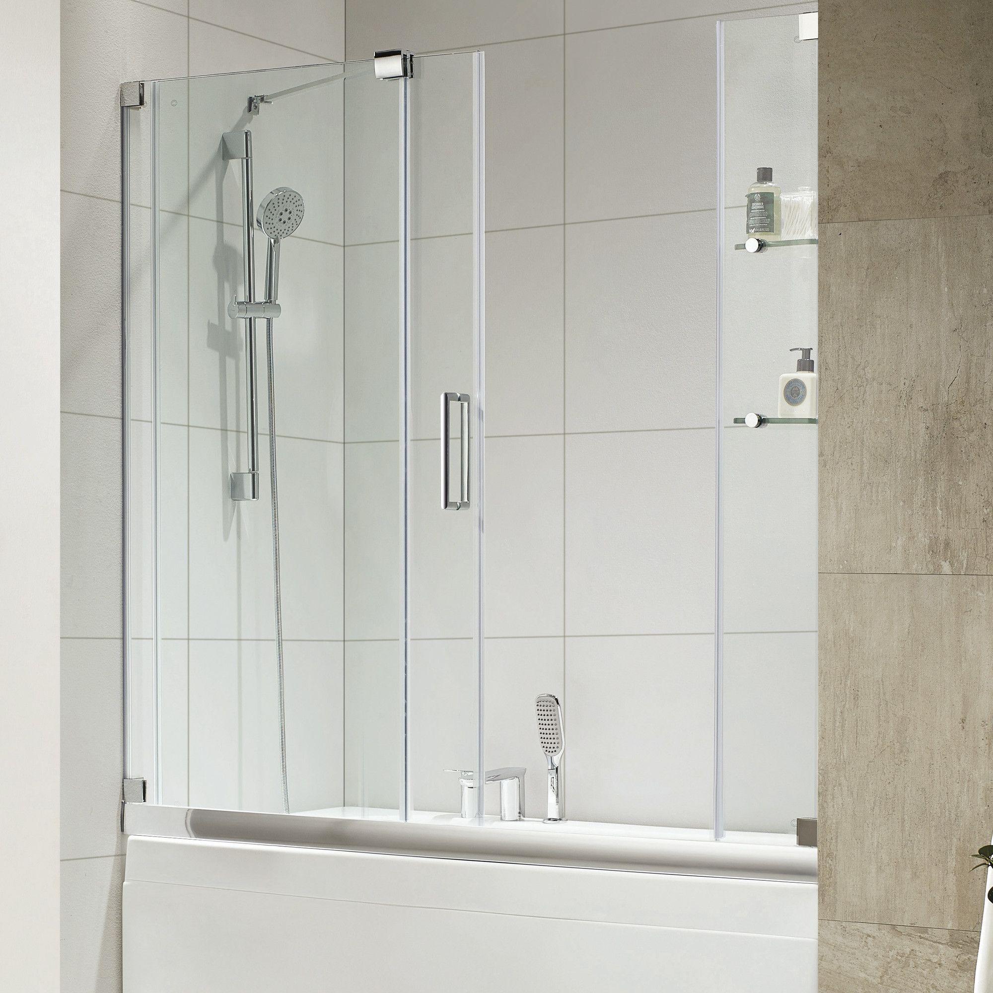 Oasis E 60 X 58 Single Sliding Frameless Tub Door