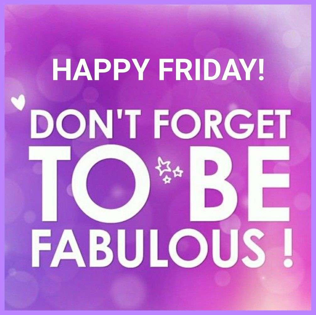 HAPPY Fabulous Friday! #fabulousfriday #motivation #fit50