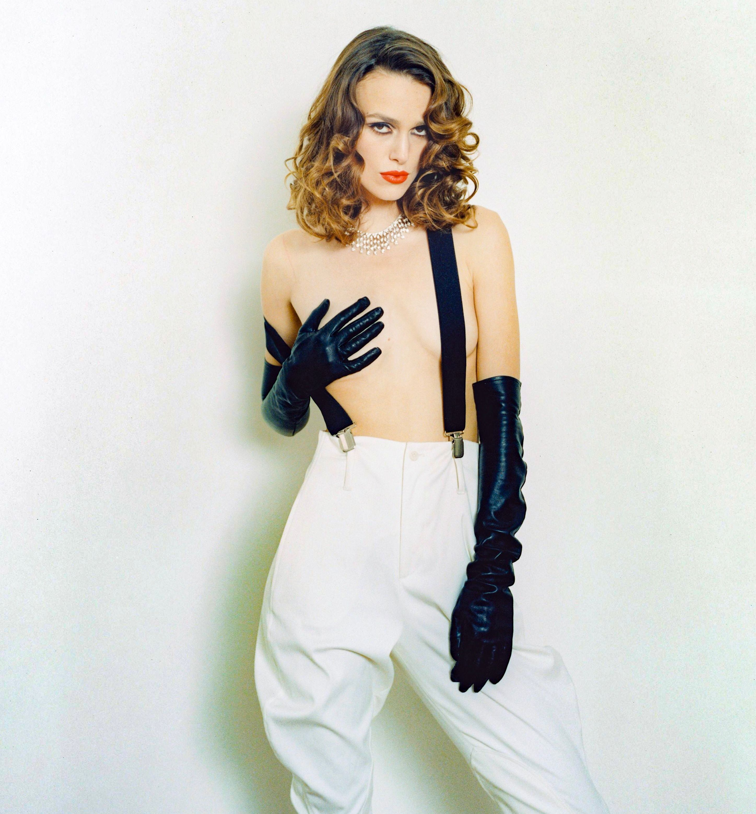 Keira knightley topless on interview magazine