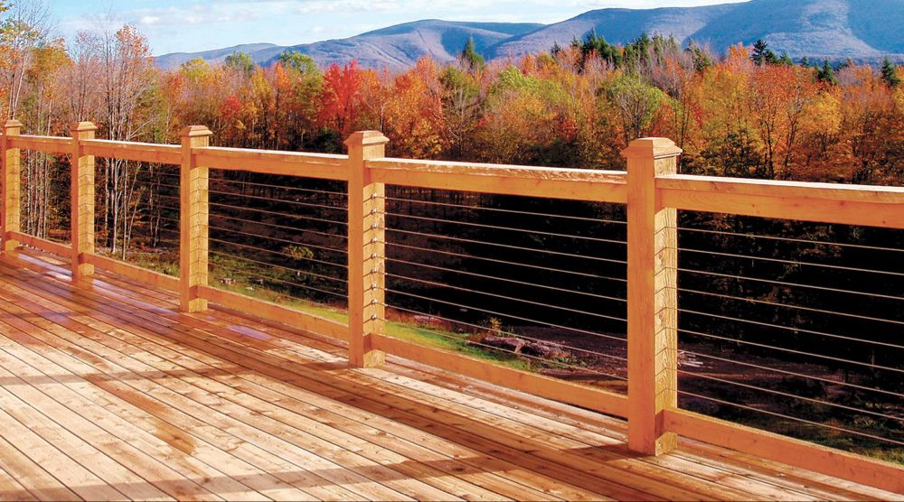 Atlantis Rail Systems Home Cable railing, Cable
