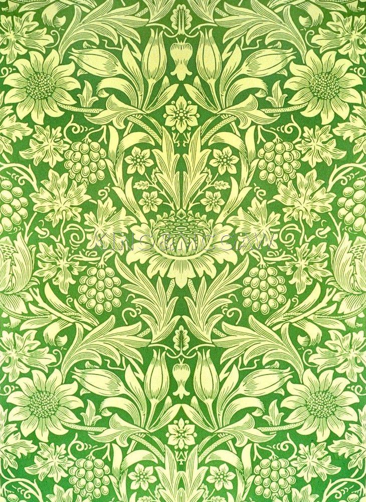 a0b27e49e5bc Sunflower Art Print by William Morris at King & McGaw | Design ...