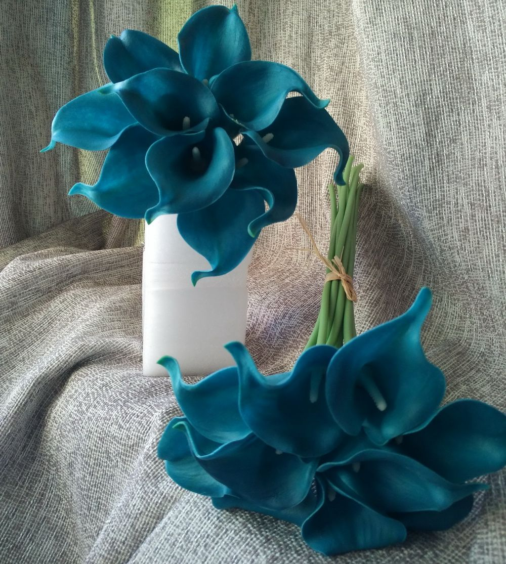 Cheap flower decoration for wedding buy quality flower rings cheap flower decoration for wedding buy quality flower rings directly from china flower cupcake decorating suppliers 10 stems teal calla lilies bouquet izmirmasajfo