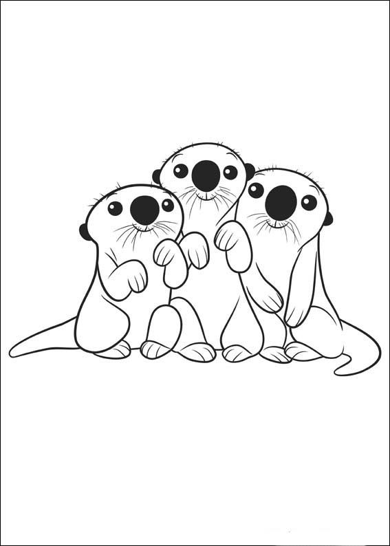 Finding Dory Coloring Pages 9   Ann\'s Coloring Pages   Pinterest ...