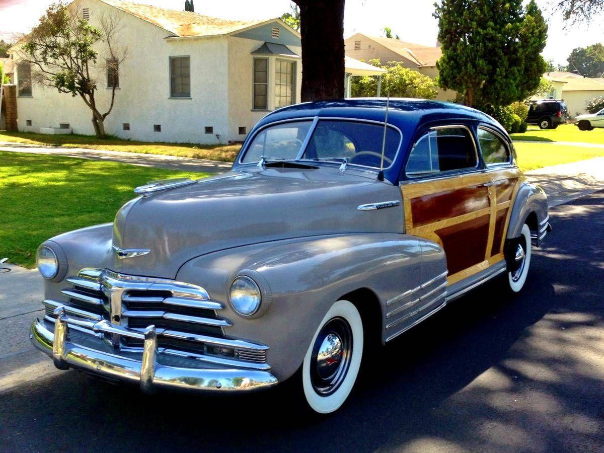 1948 chevrolet fleetline woody