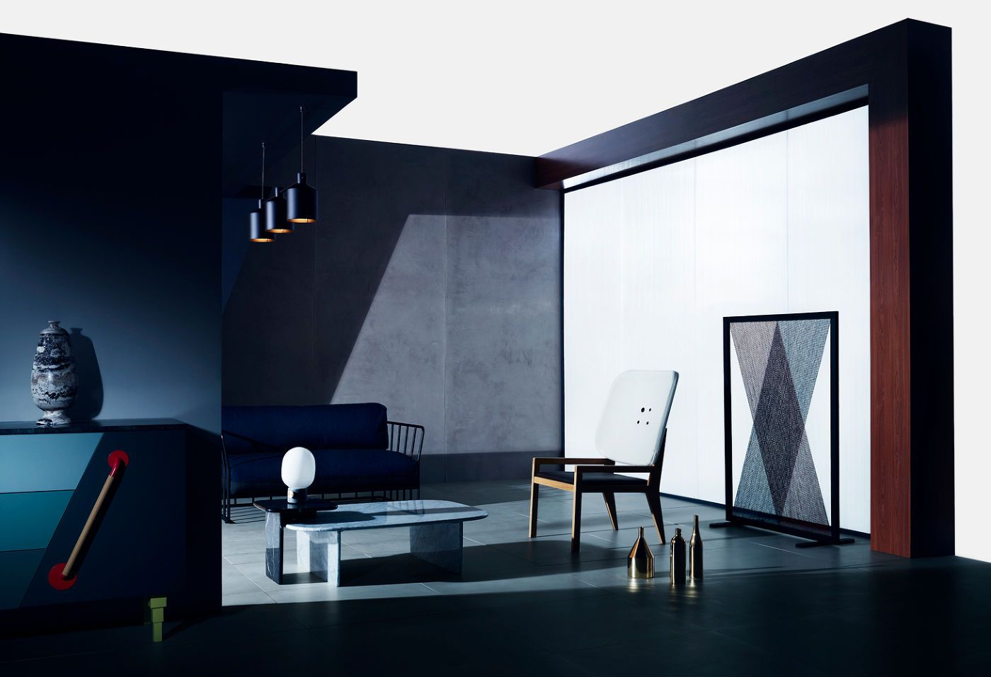 Leandro Farina For Wallpaper Interiors Pinterest Arte # Muebles Leandro