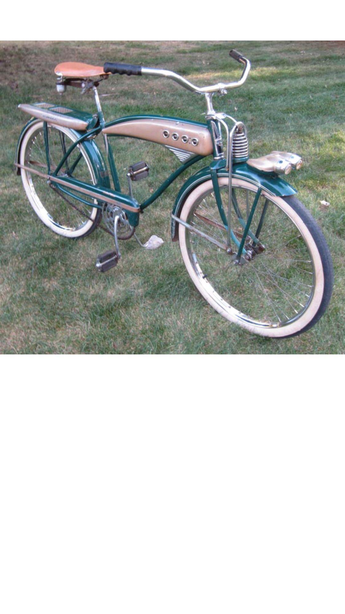 334dfbcbbce Very old Schwinn Excelsior. Pre-war ladies bike with springer lock and key!