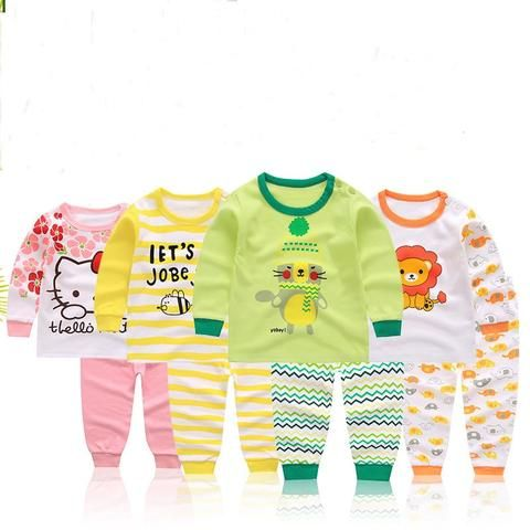28e142f31f44 Fashion cartoon New baby clothes set cotton baby girls  boys clothes ...