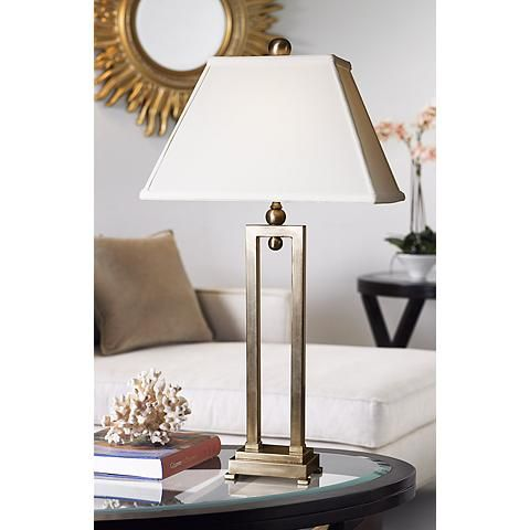Uttermost Conrad Metal Table Lamp Style 53860 Lamps Metals And Contemporary