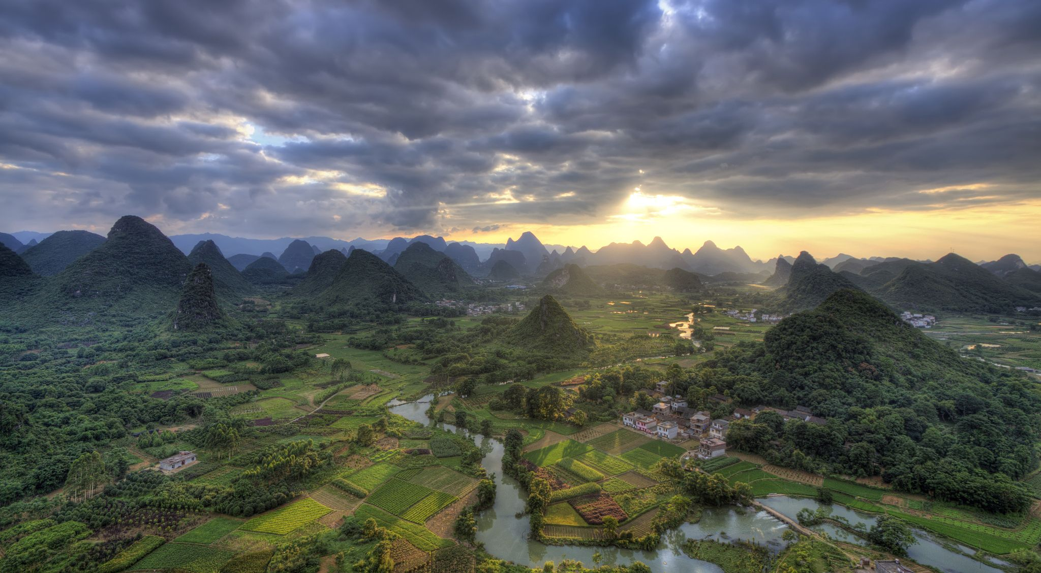 cuiping area located near yangshuo guangxi province china. http://www.anotherdayattheoffice.org/
