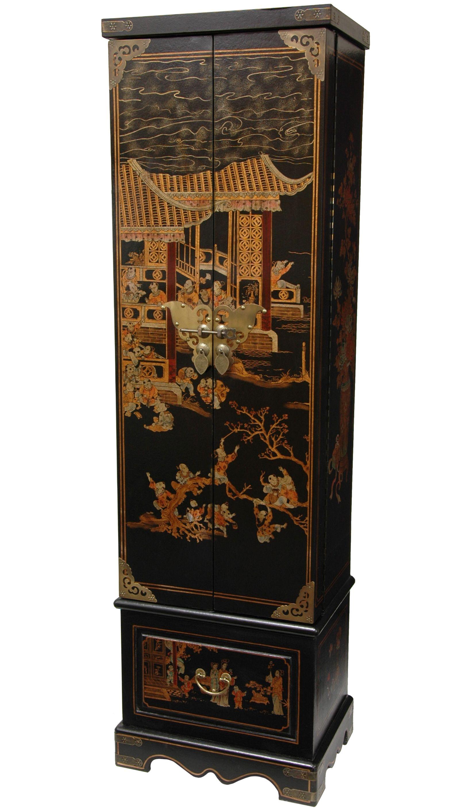oriental jewelry armoire Description Extra tall jewelry armoire