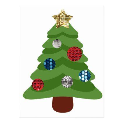 Emoji Christmas Tree Holiday Postcard Zazzle Com Emoji Christmas Tree Emoji Christmas Postcard Christmas Cards