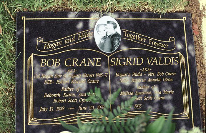 Bob Crane S New Grave At Pierce Bros Westwood Park In Westwood