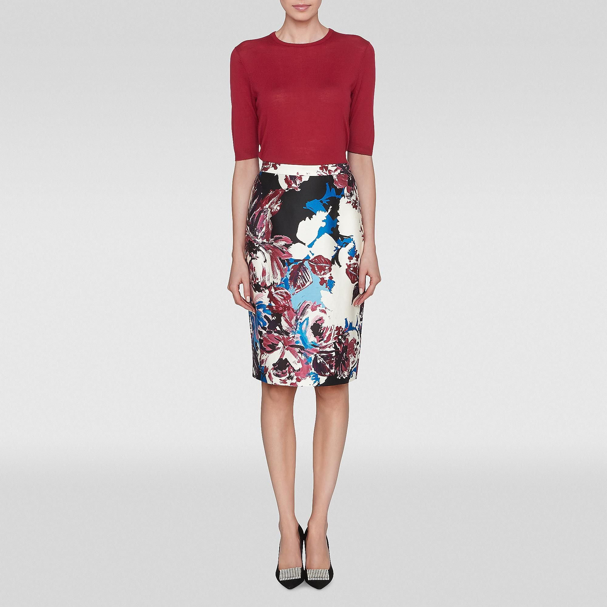 Ella Floral Printed Pencil Skirt | Sewing Inspiration | Pinterest ...