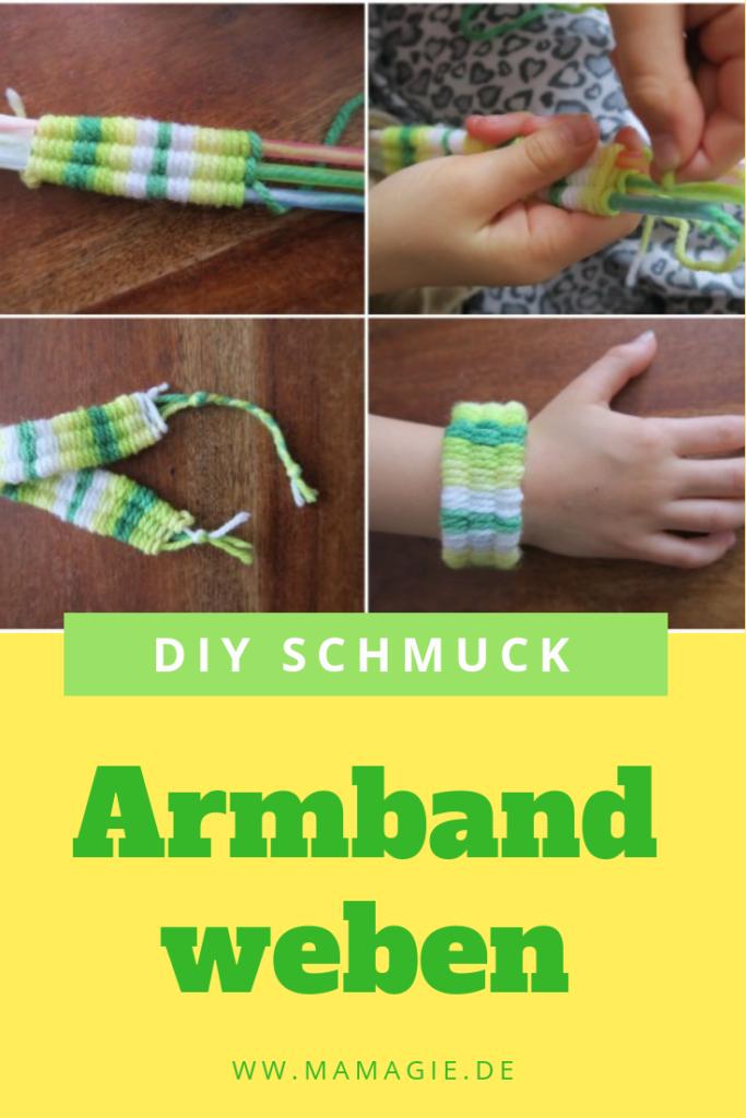 DIY Dienstag: Armbänder aus Wolle