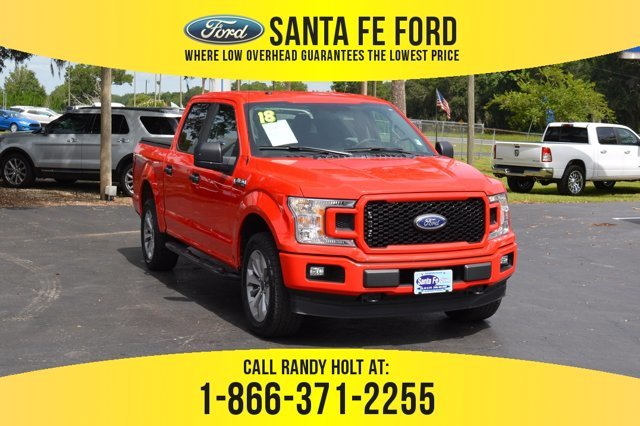 Used 2018 Ford F 150 Xl 4x4 Truck For Sale Gainesville Fl 40482p
