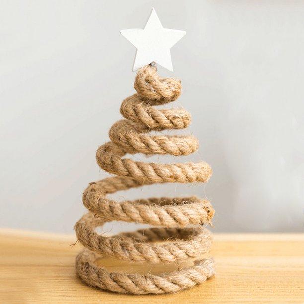 Wooden Small Decoration Christmas Tree Shape Chris