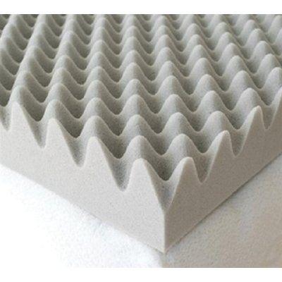 White Noise Egg Crate Twin Xl 4 Foam Mattress Topper In 2021 Memory Foam Mattress Topper Foam Mattress Topper Memory Foam Mattress