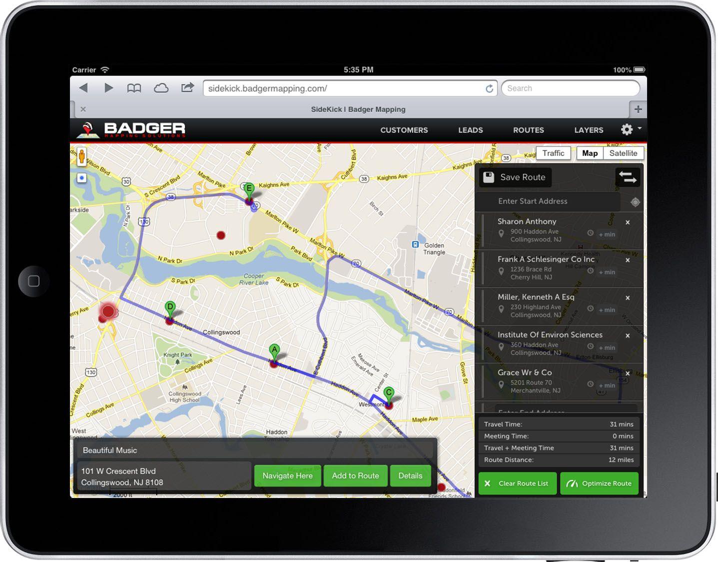 Image result for Badger Maps