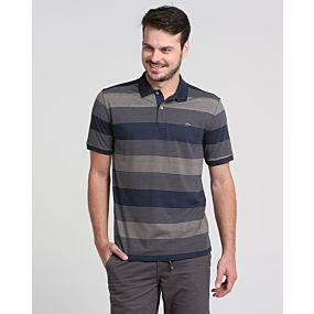 Camisa Polo Listrada Riachuelo - Camisa Polo Listrada e confeccionada  inteiramente me algodao. O modelo a973d58810