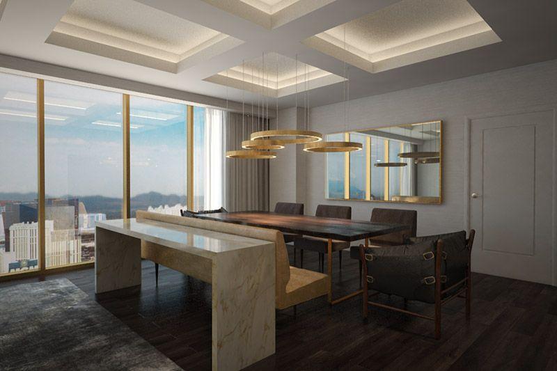 Delano las vegas luxury hotel penthouse superior suite - Delano las vegas two bedroom suite ...