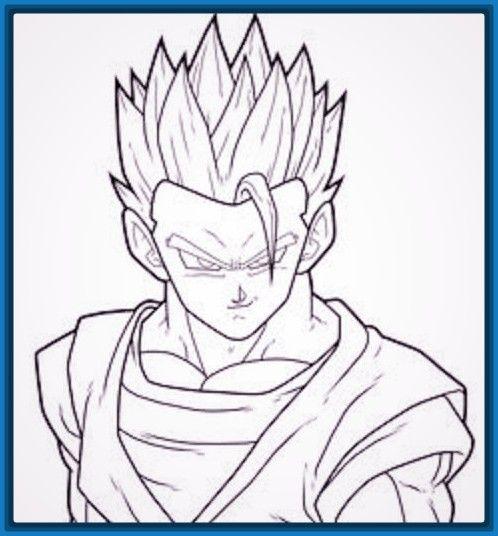 Resultado De Imagen Para Dibujos De Dragon Ball A Lapiz Faciles Dibujos Faciles Dibujos Dibujos A Lapiz Faciles
