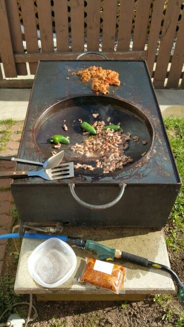 Making Discada In The Disco I Designed Cajun Microwave Outdoor Oven Cooking