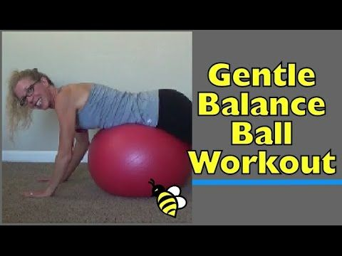 Gentle STABILITY BALL for BEGINNERS | 15 Minute Strength + Stability Home Workout