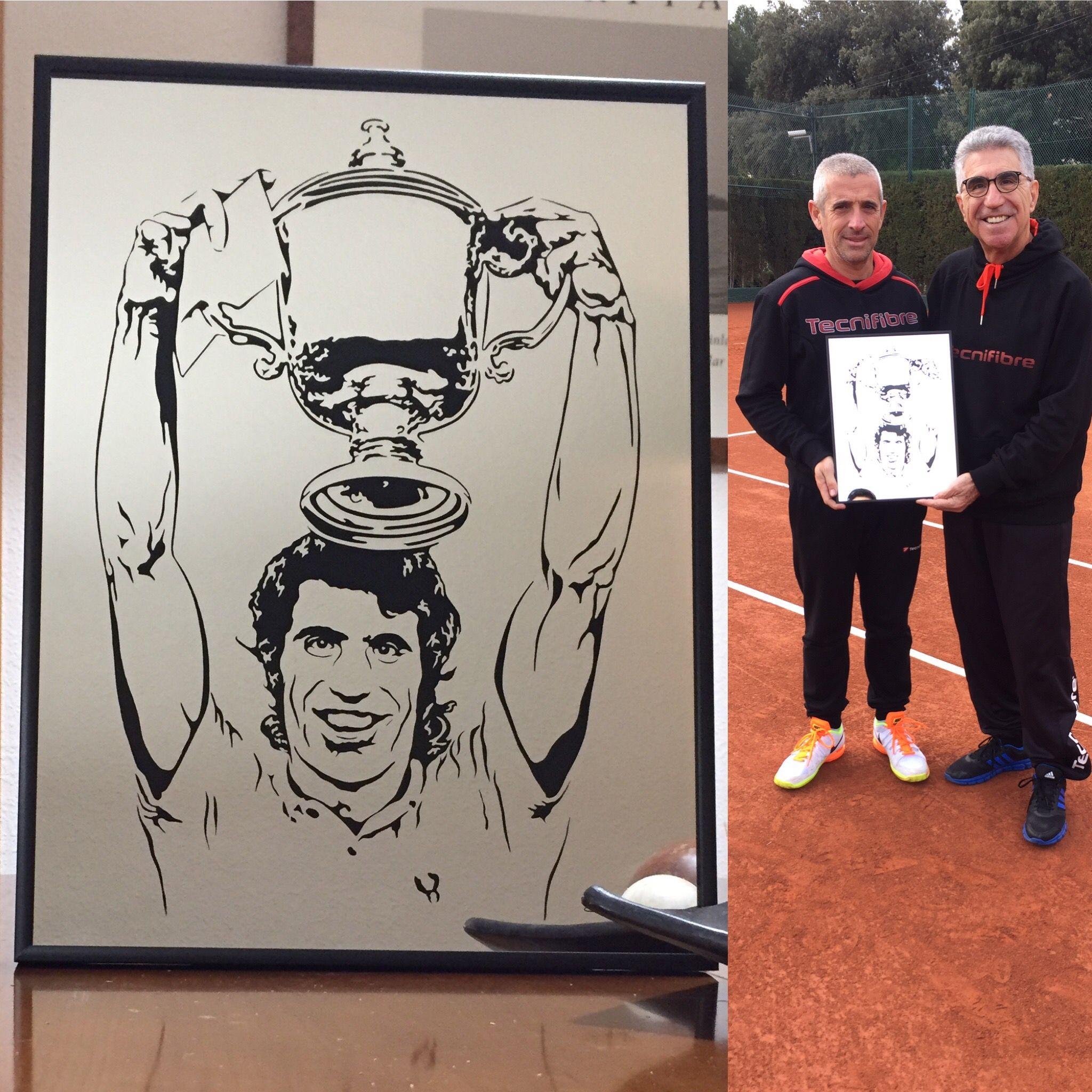 Manuel Orantes Tennis Hall of Famers Pinterest