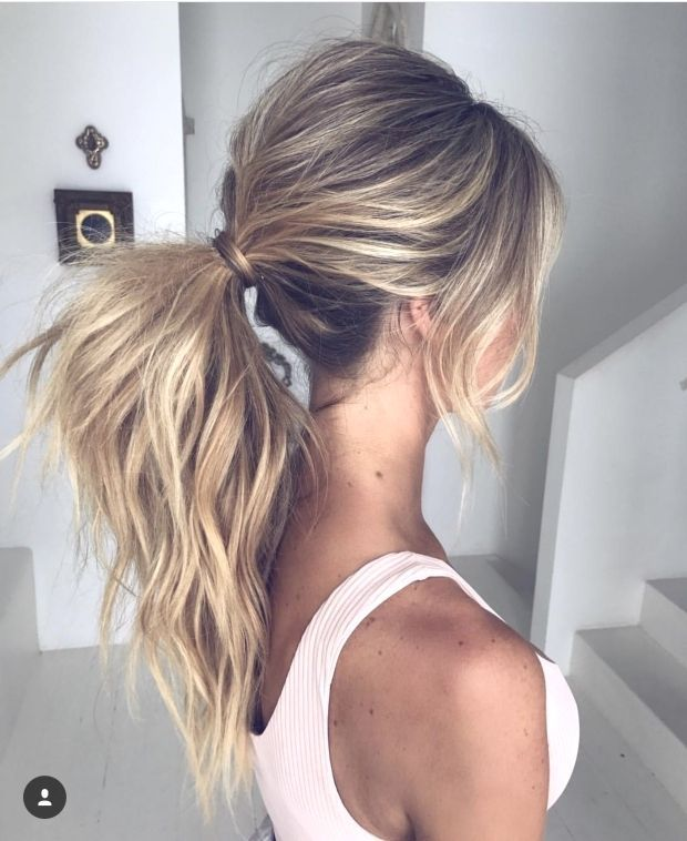 Pin By Jessica On Hair  Peinados Cabello Recogido Pelo Rubio Largo : Pin By Jess…