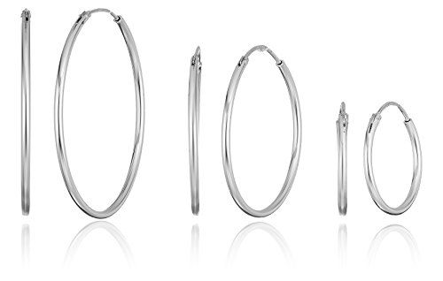 Sterling Silver Hoop Earrings With A Lock Back Like This Small For My Cartillage Piercings