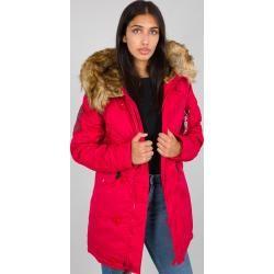 Jacken mit Fellkapuze für Damen