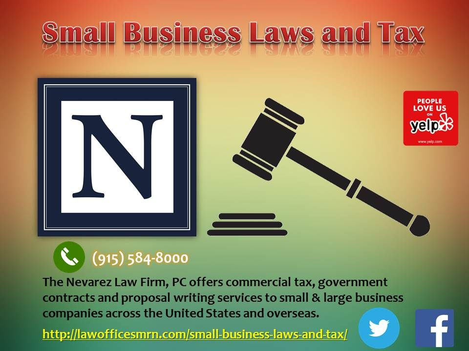 Small Business Laws and Tax
