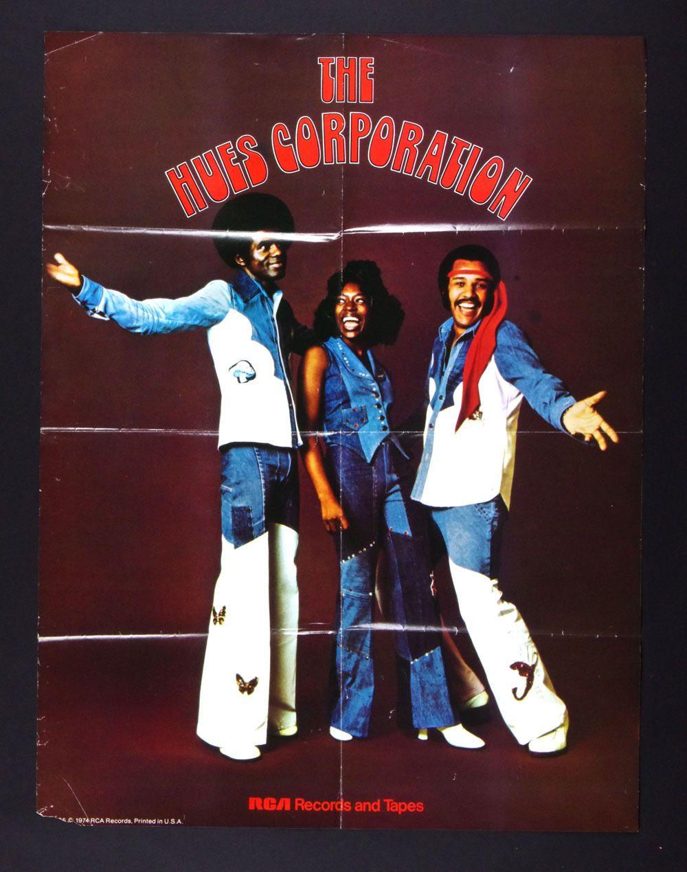 The Hues Corporation Poster Rockin Soul 1974 Album Promo 22 X 29