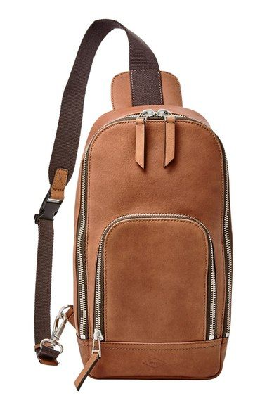 59c0c06e0e Laptop and Computer Bags for Men. Fossil  Miller  Sling Pack available at   Nordstrom