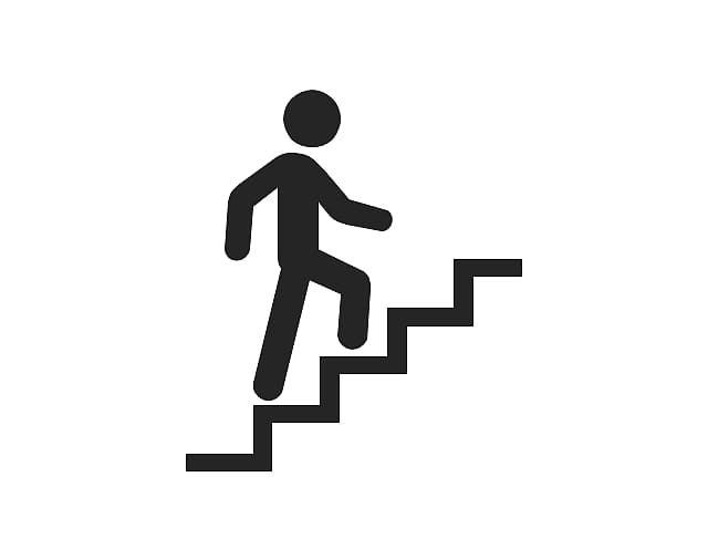 Walking Up On Stairs Stairs Stair Climbing Someone Clipart House Staircase Clipart House Staircase Transparent Wirtschaft Kost Stairs Icon Pictogram Clip Art