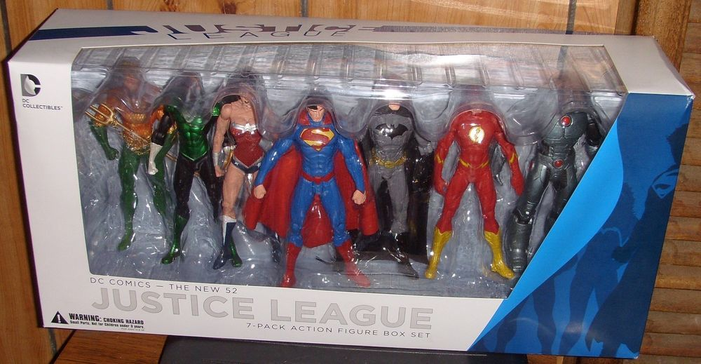 DC Comics New 52 Justice League Wonder Woman Figure MISB Brand New