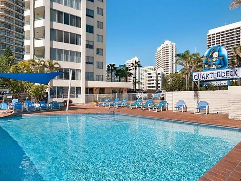 Gold Coast Quarterdeck Apartments Australia Pacific Ocean And Australia The 3 Star Quarterdeck Apartments Offers Comfort And C Holiday Rental Gold Coast Hotel