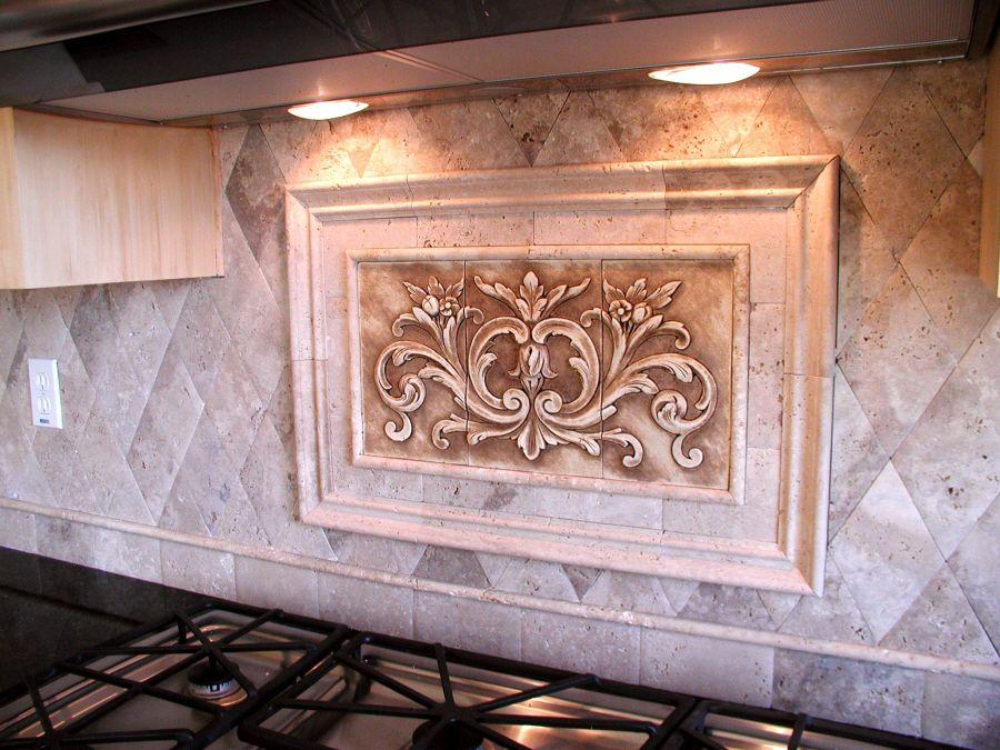 Amazing decorative backsplash tile french country - Decorative tile for backsplash in kitchens ...