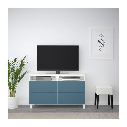 BESTÅ TV Unit With Drawers, Black Brown, Valviken Gray Turquoise. Green  DrawersArmoire DresserDressersIkea ...