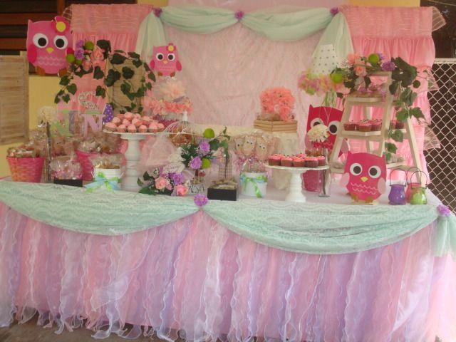 Mesa de postres baby shower b hos pinterest for Mesa de postres baby shower