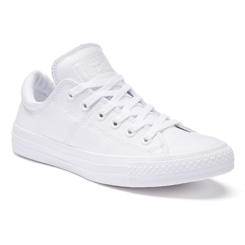 516bde64 Women's Converse Chuck Taylor All-Star Madison Leather Low-Top Sneakers,  Size: 5, White
