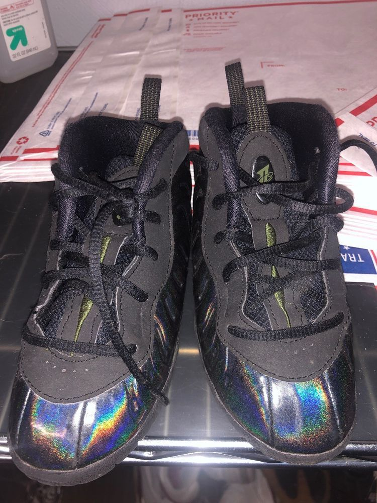 a6fd7e5cf24 Nike Kids Foamposite Little Posite One SZ 10c 723947 301 Legion Green Penny  Air  fashion  clothing  shoes  accessories  babytoddlerclothing  babyshoes  (ebay ...