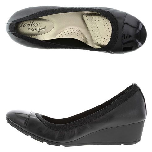 Dexflex Comfort Women S Daylight Wedge Black Size 9w Payless Shoesource 29 99 Affordable Fall Fashion Payless Shoesource Payless Shoes