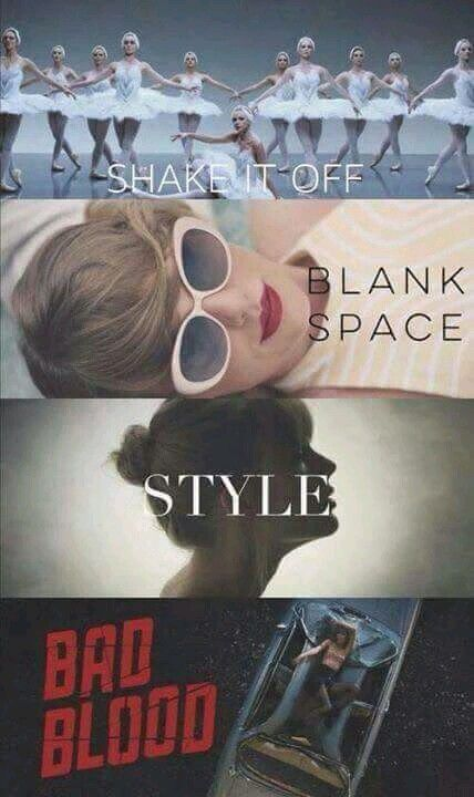 What is your favorite???  XD.... I think Style get stuck in my head the most...