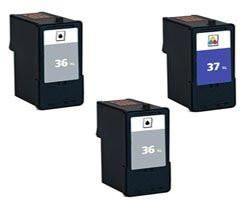 INCLUDES REMANUFACTURED REPLACEMENT LEXMARK INK CARTRIDGE FOR SELECT PRINTERS FAXES COMPATIBLE WITH X3650