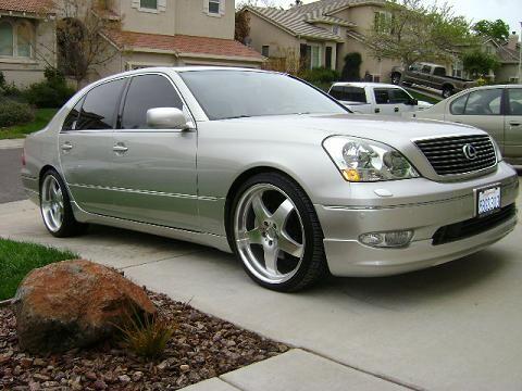2003 Lexus Ls430 >> 20 X 8 1 2 S And The Rear Are 20 X 10 S A Wald Full Body Kit