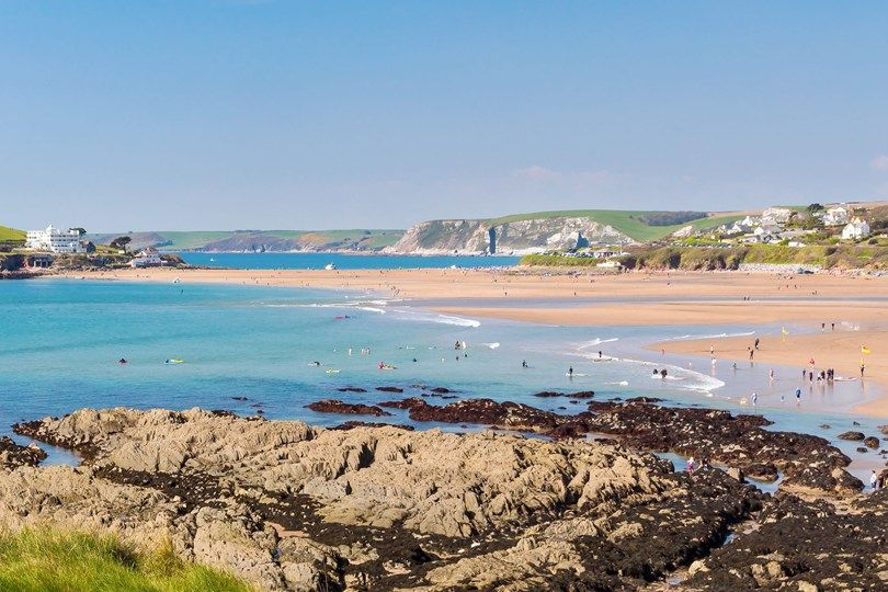 Britains Best Beaches South Devon Devon And Britain - Britains 15 best beaches