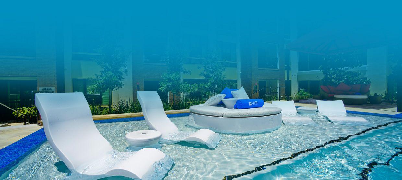 In-Water Pool Furniture | Ledge Lounger